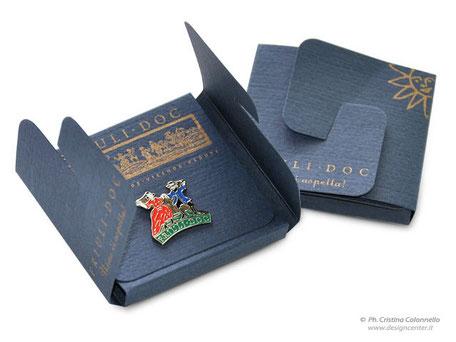 spilla evento - pin - spilla da giacca con smalti a colori  Friuli Doc