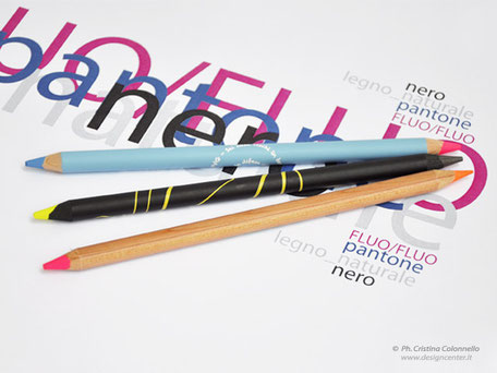Matite particolari  -  matita pere evidenziare - matite doppia punta