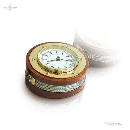 Orologio nautico da tavolo - home design - stile marino - barca - nave