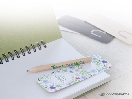 Kit segnalibro e matita mini - Confezione scrittura mini