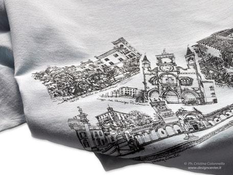 T-shirt  d'arte -  artista Franchina Tresoldi - t-shirt artistiche