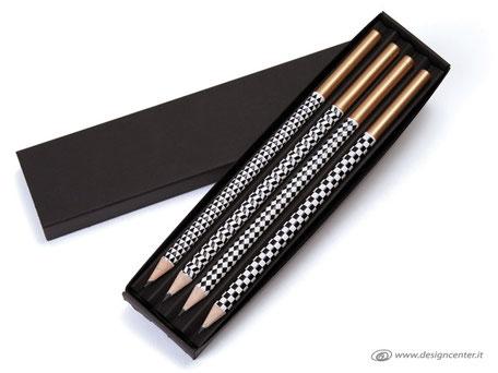 Matite di design - Matite HP - Matite con grafica - Set regalo prezioso