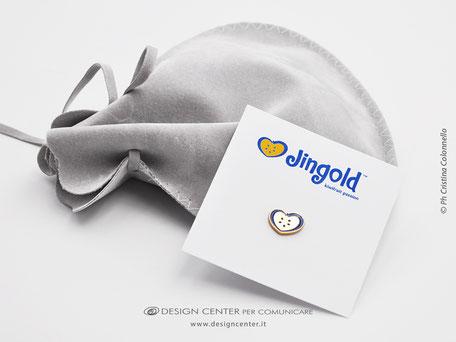 Regali oro argento - Spilla  anniversario -Forza vendite  - Spirito di appartenenza - identità