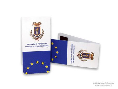 Segnalibro personalizzato - Convegno Politiche Europee