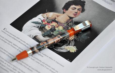 Penne per museo - penna con opera - penna bookshop
