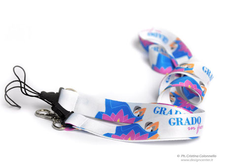 Collarino Grado in fiore con realizzazione grafica di Cristian Colonnello