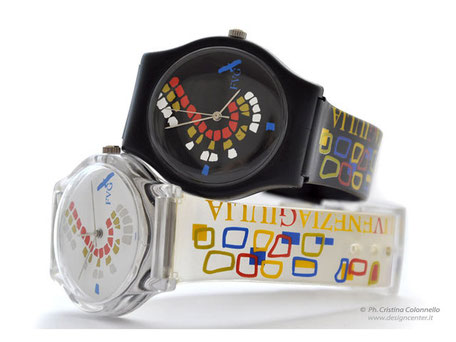 Corporate merchandising - bookshop -orologio tipo swatch interamente personalizzato - orologio design