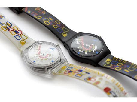 Gadget personalizzati - corporate merchandising - bookshop museo  - orologio brand interamente personalizzato