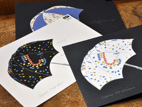 Marketing d'impresa - gadget  custom -  ombrello museo