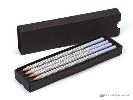Confezione Matite Design - Cofanetto  con matite