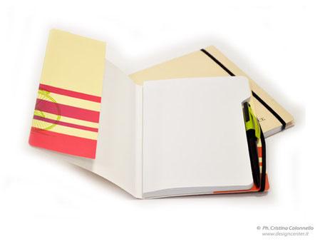Blocco note in cartoncino  - copertina con patelle - personalizzate