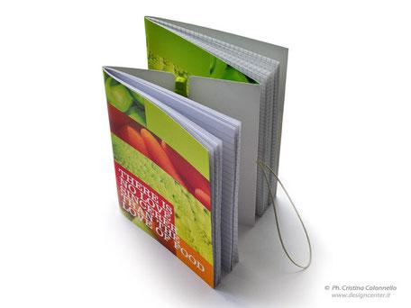 Quaderno DUO  con doppia copertina stampata in quadricromia