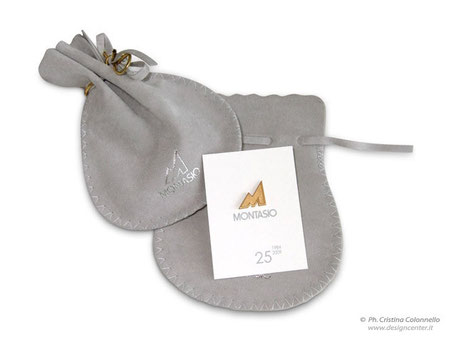Montasio - Spilla da giacca custom - argento - smalti - oro