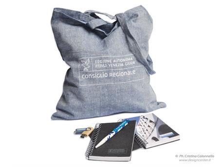 Riciclo - linea ecologica - shopper - tote bag - manici  lunghi