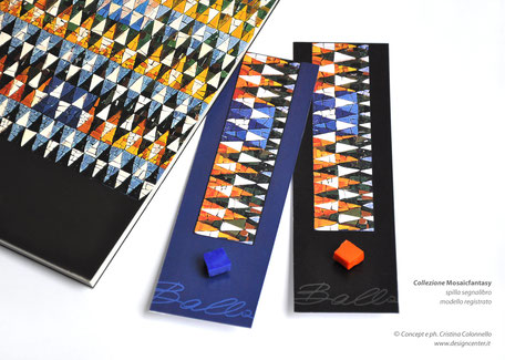 Merchandising bookshop museale - spilla segnalibro