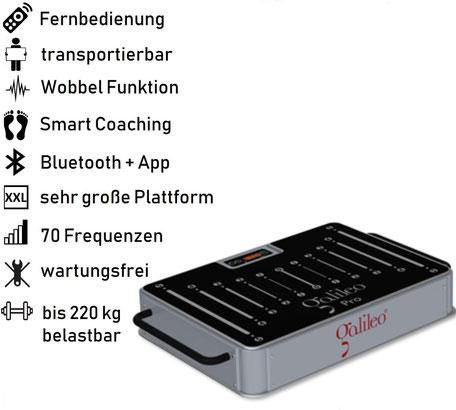 Vibrationsplatte Galileo Pro Base, Vibrationstrainer, Galileo Training, gebraucht, kaufen, Preise, Preis, Test, Vertrieb: www.kaiserpower.com