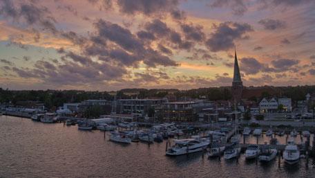 Lübeck-Travemünde Hafenansicht