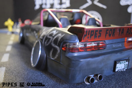 ILLEGAL WORKSHOP - P!PES RC EXHAUSTS