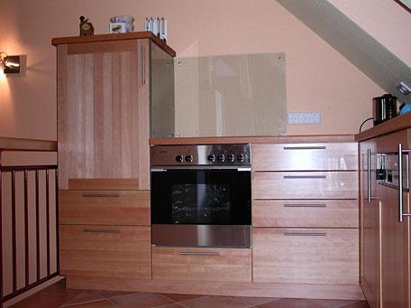 Massivholzküche aus Buche