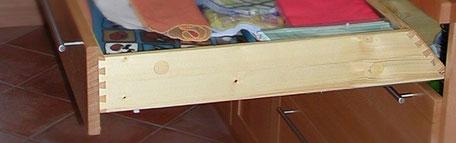 Stauraum nutzen, Schubladen anpassen