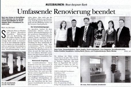PR Text Text Zeitungsartikel Bericht Neueröffnung