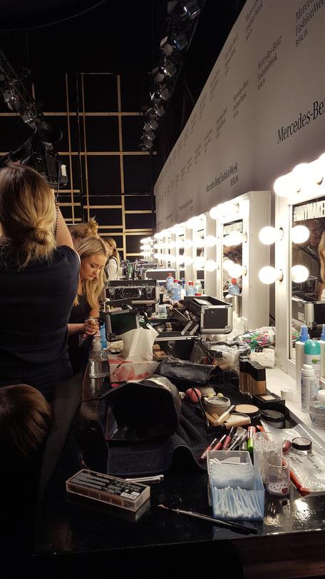 Bild: Backstage Berlin Fashion Week 2016