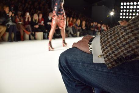 Bild: Fashion Week Berlin mit Manschettenknöpfen von Morent Berlin