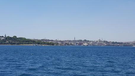 Bild: Meer in Istanbul europäische Seite