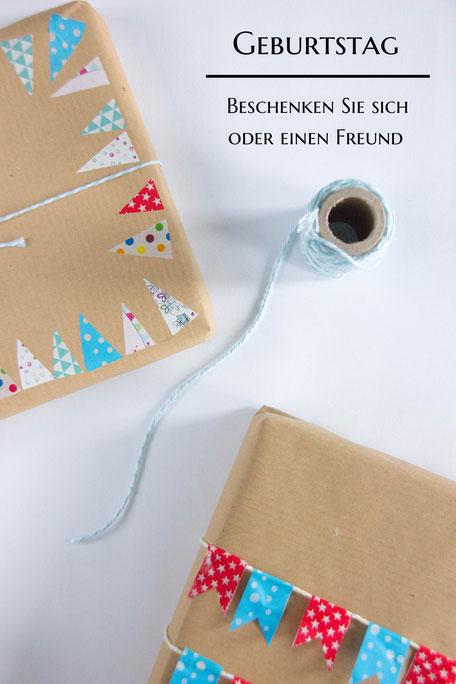 Bild: Geburtstag, beschenken Sie sich oder einen Freund