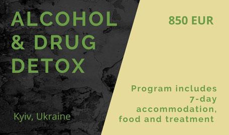 Drug detox in Kiev