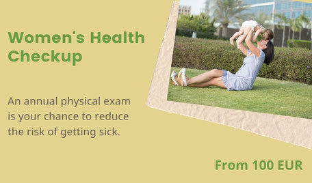 Women's health checkup