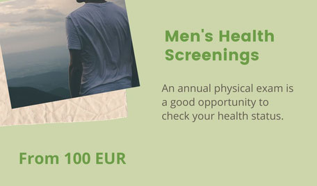 Men's physical exam