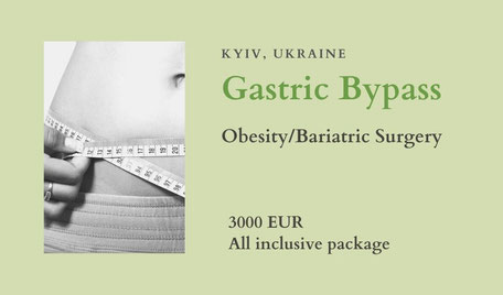 Gastric Bypass in Kiev Ukraine