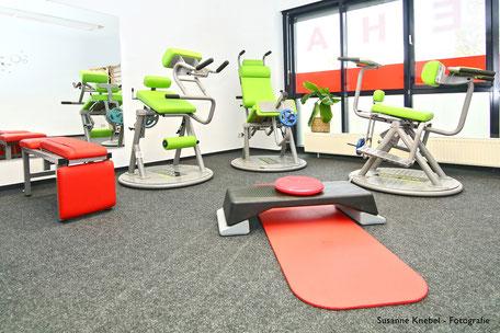 Gerätepark in unserer Physiotherapie