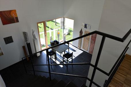 Atelier von oben