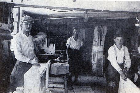 Historische Steinmetzwerkstatt