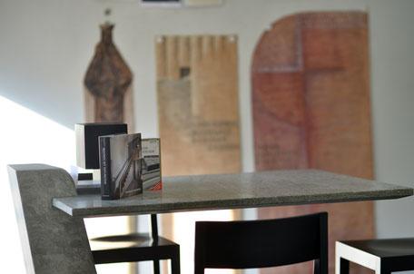 Tisch im Atelier