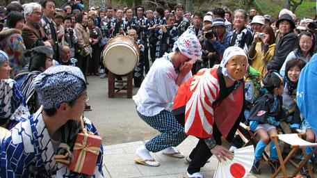森の石松祭り