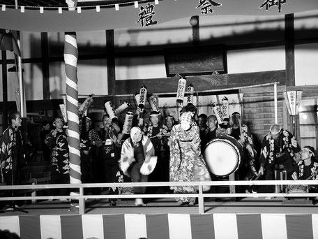 平成21年11月・国民文化祭にて