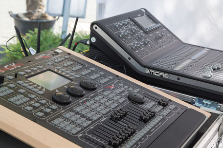 Mischpult, DJ Stand, Musik für die Gäste