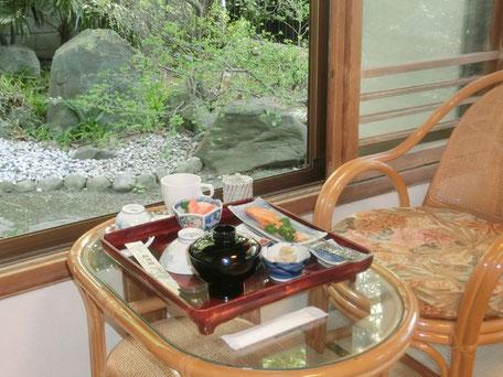 金沢八景 旅館 追浜園 朝食 和食