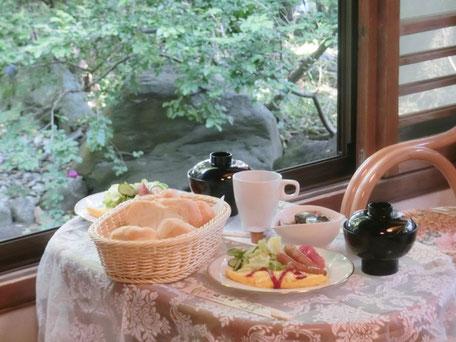 金沢八景 旅館 追浜園 朝食 洋食