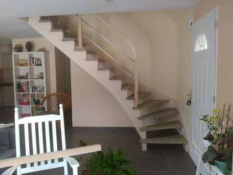 Escalier et mezzanine sur-mesure en Corrèze