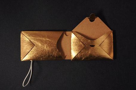 Portemonnaie | Purse REM gold 29€