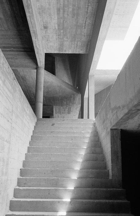Allvaro Siza, Faculdade de Arquitectura da Universidade do Porto, Foto Dietmar Ness
