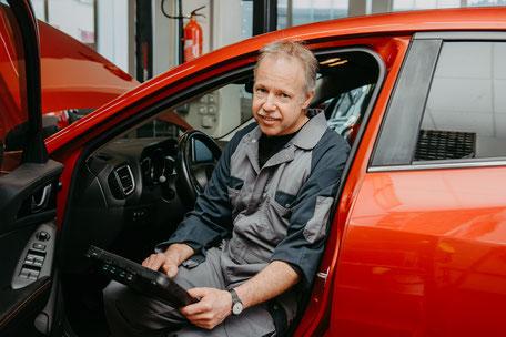 Rainer Glanzmann, Automobil-Diagnostiker