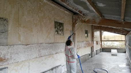 Desinfektion, Skumix, Verschäumungsanlage, Siloreinigung, Lohnunternehmen Guggisberg Zimmerwald