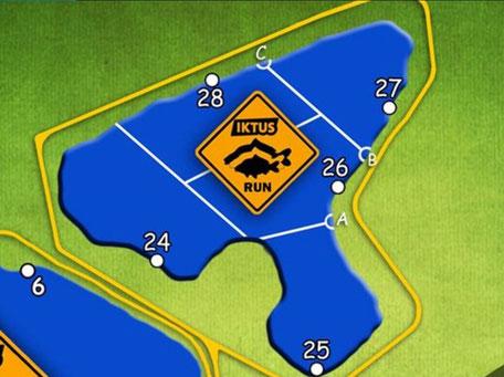 Plan de l'étang Iktus Run