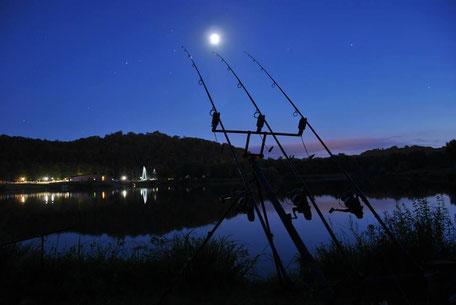 lac IKTUS de nuit