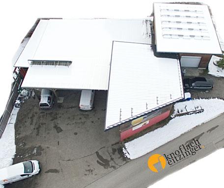 Winter-Luftaufnahme - Fa. Knoflach-Eitzinger